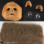 ewok mask foam latex and fur
