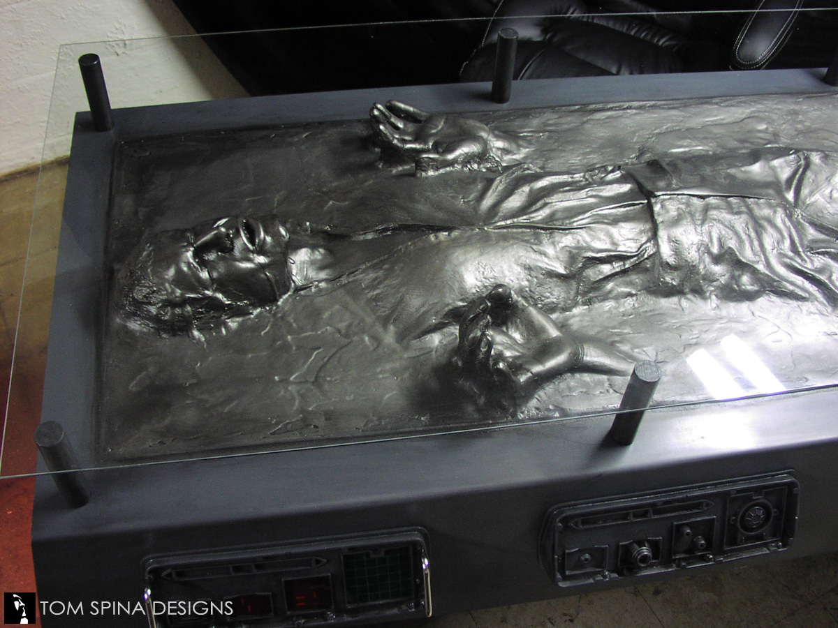 Star Wars Han Solo Carbonite Desk Custom Furniture Tom