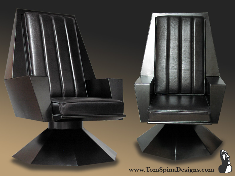 Custom Movie Themed Furniture Galactic Throne Tom Spina Designs Tom Spina Designs