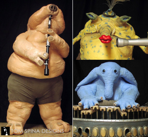 Max Rebo Band lifesized foam carved statues