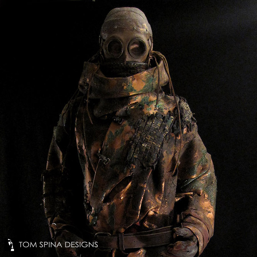 Custom Mannequin For Silent Hill Miner Costume Tom Spina Designs Tom Spina Designs