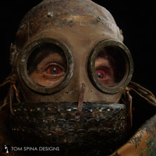 Silent Hill movie miner costume gas mask
