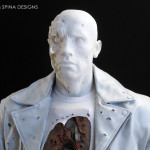 Terminator 2 endo Chest Piece Custom Mannequin Display