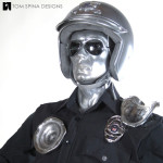 T2 T1000 Movie Costume Custom Mannequin