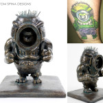 Despicable Me Minion Hulk statue custom gift