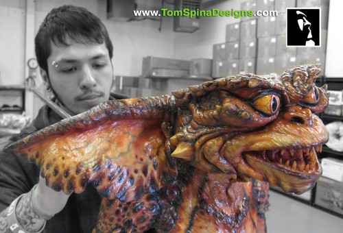 Gremlins Movie Prop Puppet Conservation and Display
