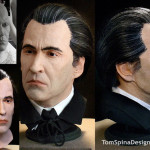 Christopher Lee Sculpture Dracula Lifesized Bust