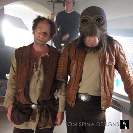 Star Wars Cantina Commercial u2013 Costumes for Super Bowl Ad & Star Wars u0026 Licensed Characters Archives - Tom Spina Designs » Tom ...