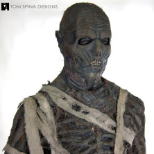 The Mummy movie costume mask 1999 Brendan Frasier