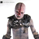 Pandorum movie costume statue