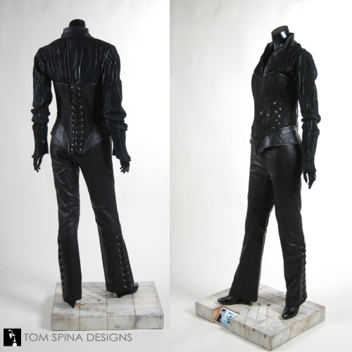Custom mannequin display for X-2 Lady Deathstrike Costume