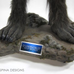 life sized underworld lycan feet