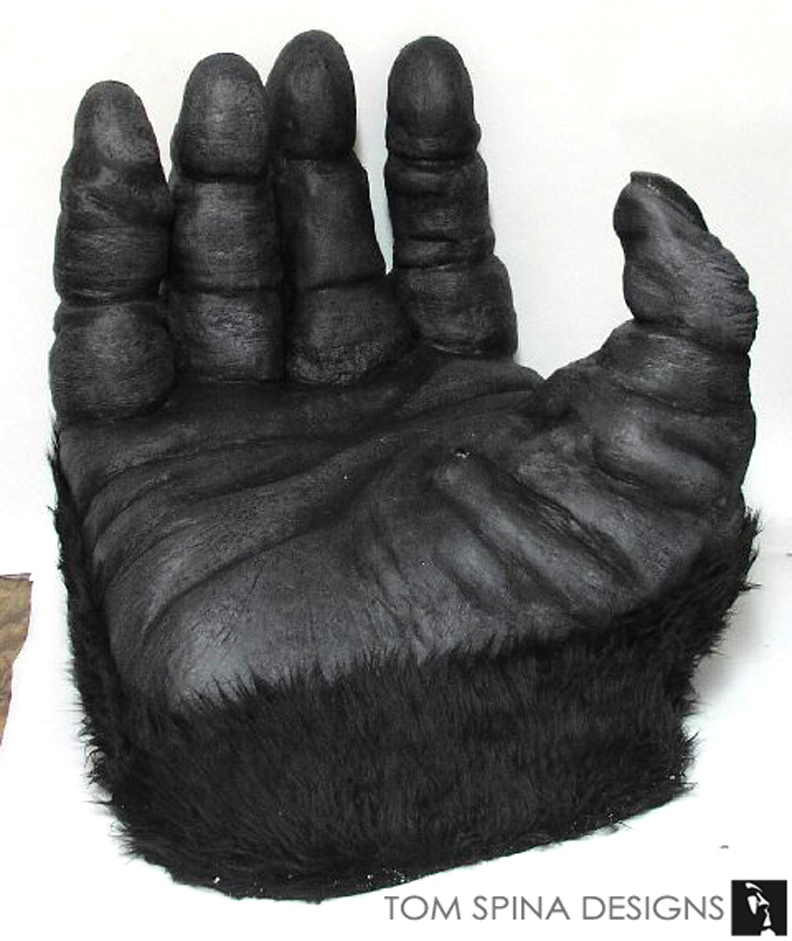 1976 King Kong Hand Chair made from carved foam  sc 1 st  Tom Spina Designs & King Kong Costume Display and Hand Chair - Tom Spina Designs » Tom ...