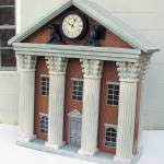 Back to the Future Clock tower Trade Show Foam Prop model