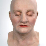 Mrs. Doubtfire special effects makeup display bust