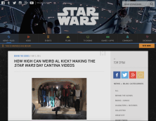 May the 4th videos for Lucasfilm and Google