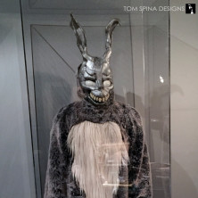 custom mannequin and acrylic display case for Donnie Darko Frank Costume