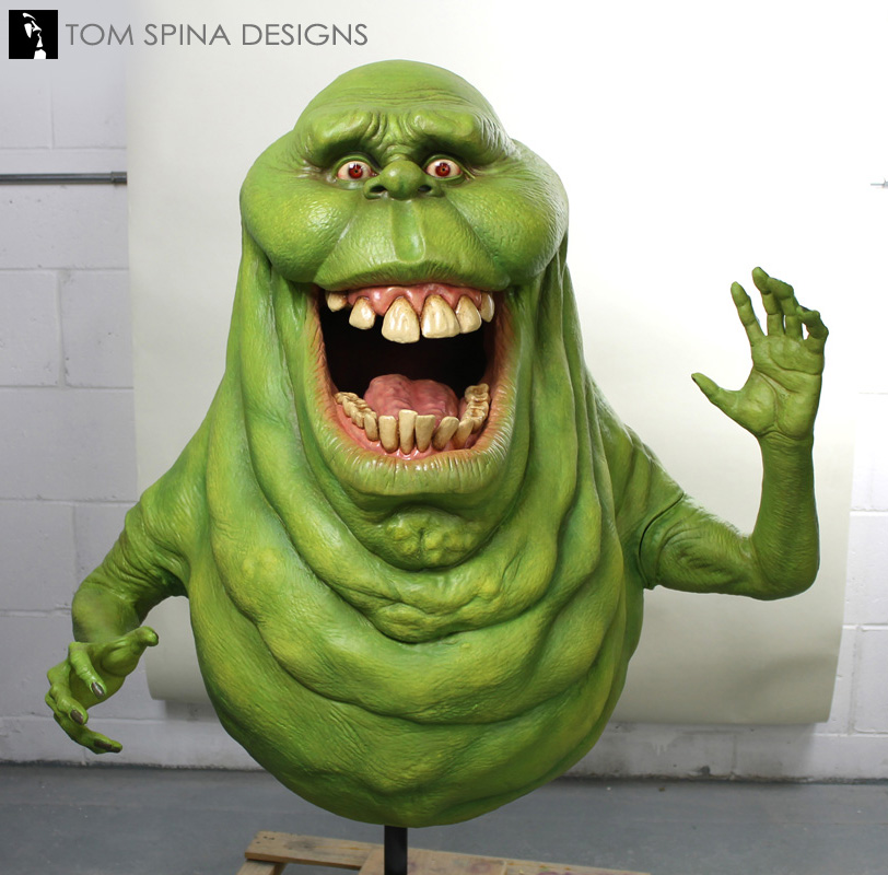 Slimer from Ghostbusters Life size Statue - Tom Spina ...