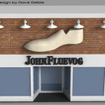 Custom Foam Sign – Outdoor Giant Shoe Prop