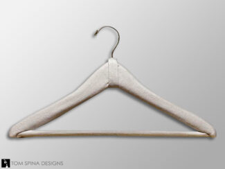 padded suit hanger for costume and dress storage