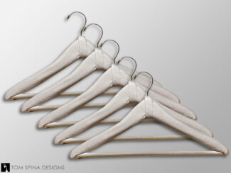 padded suit hangers for costume and dress storage