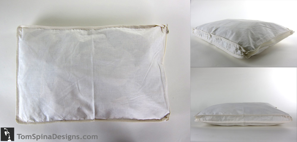 archival muslin storage pouch for costume and dress storage