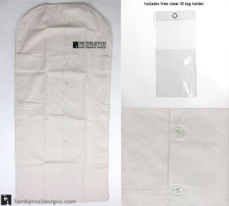 "50"" archival suit bagcotton muslin costume hanger bag"