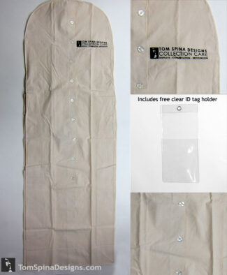 archival garment bag cotton muslin costume hanger bag