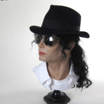 lifesized Michael Jackson wax figure head