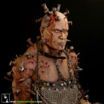 Thirteen Ghosts custom mannequins - the Hammer movie costume display