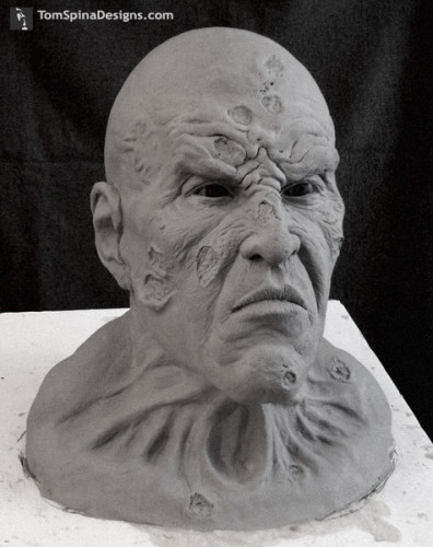 Thirteen Ghosts Juggernaut custom statue head sculpture
