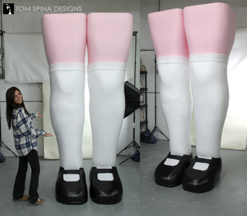 Alice in Wonderland Props - foam legs for party