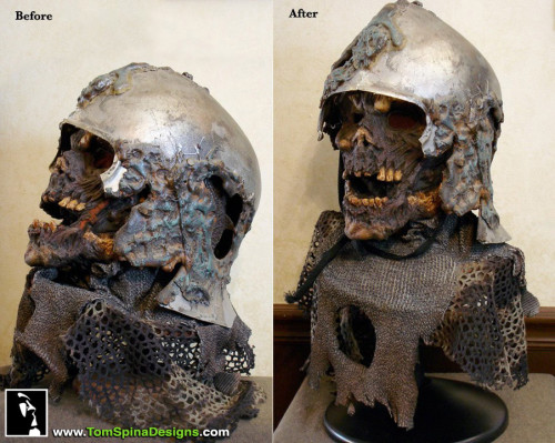 Foam Mask Restoration - Army of Darkness Deadite