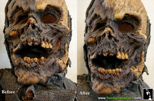 Army of Darkness Foam Latex Movie Prop Mask Deadite Restoration