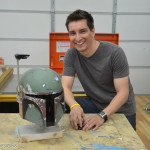 custom lifesized Boba Fett helmet