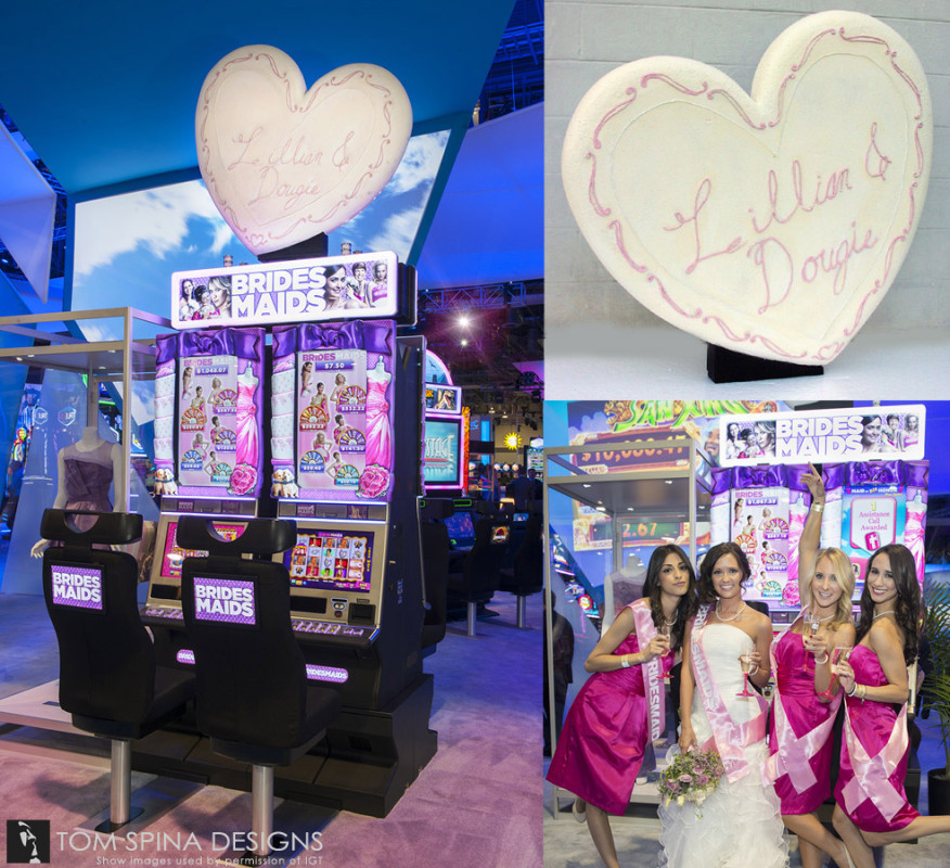 Bridesmaids Cookie Trade show Foam Prop