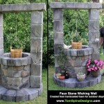 Foam Wishing Well Custom Sculpture Outdoor Decor