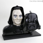 vintage Vader project for charity auction at Star Wars Celebration