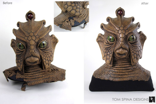 doctor who prop monster mask conservation and preservation