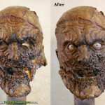 Evil Ash Mask, Army of Darkness Foam Latex Restoration