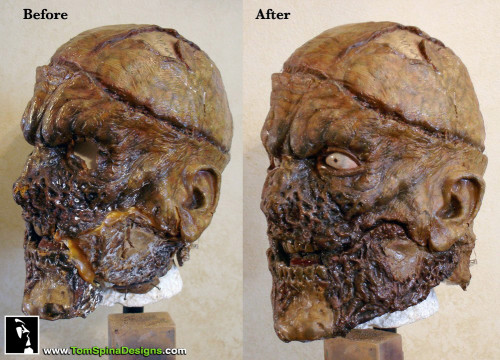 Evil Ash Mask Army of Darkness Movie Prop Restoration