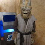 custom sculpted star wars alien latex rubber mask and costume