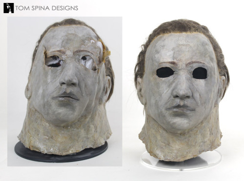 Don Shanks original movie prop mask restoration