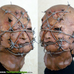 Hellraiser Mask Movie Prop Restoration