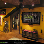 Man Cave Home Theater Horror Home Cinema