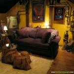 Themed Home Theater Design Man Cave