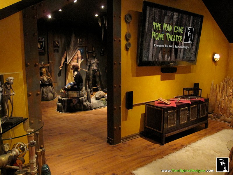 Man Cave Home Decor : Horror themed home decor images haunted
