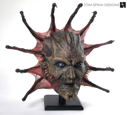 Jeepers Creepers Movie Prop Mask Restoration
