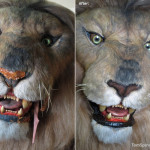 Jumanji Life Sized Lion Movie Costume Conservation