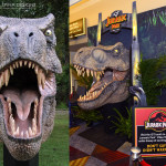 T-Rex head lifesized sculpture photo op trade show booth exhibit prop